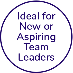 Ideal for new or aspiring team leaders icon